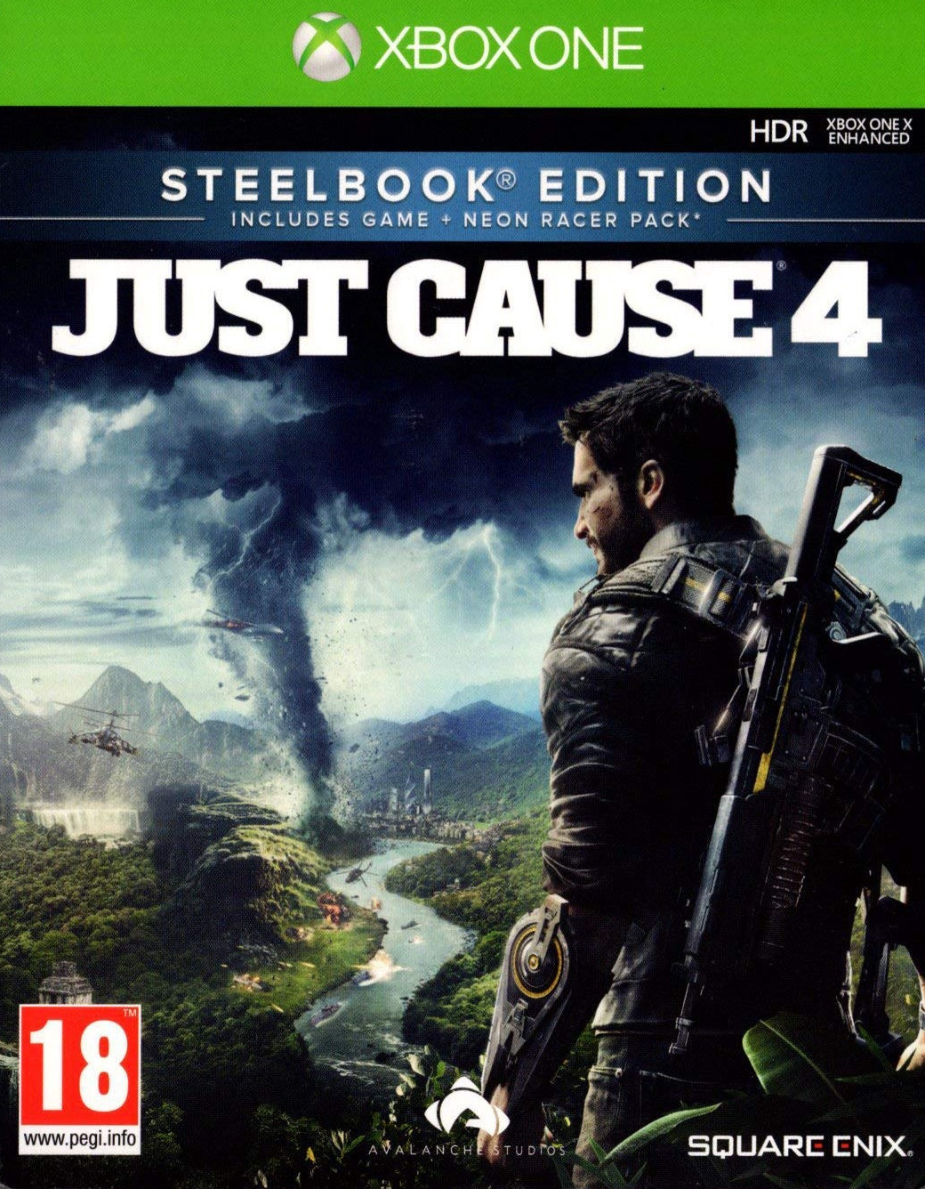 XBOX ONE Just Cause 4 Steelbook издание (английская версия)